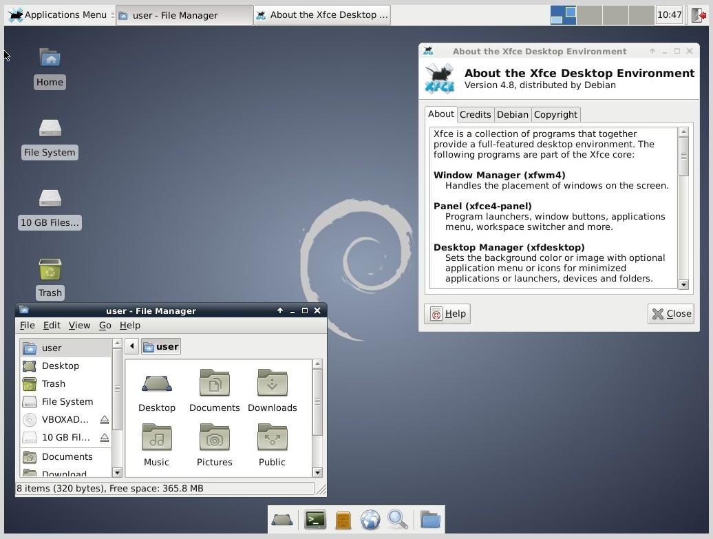 Debian z XFCE w standardzie | przystajnik