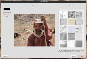 GIMP - Beautify i manipulacje z ramami/teksturami