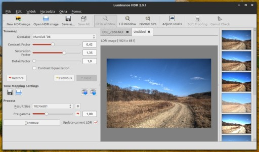 Luminance HDR 2.3.1