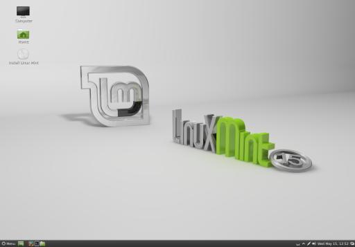 Linux Mint 15 Olivia - środowisko Cinnamon