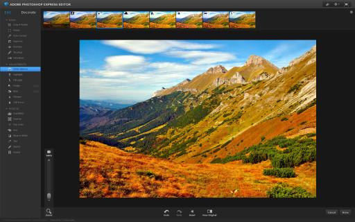 Photoshop Express na Linuksie - jednak można