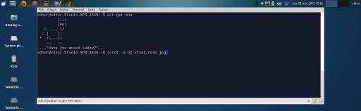Xfce4 - oto terminal