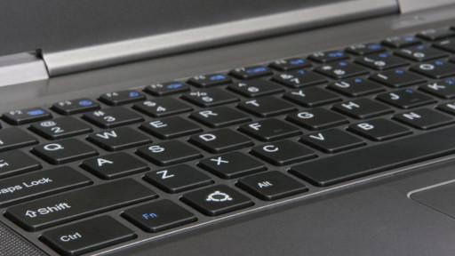 Galago UltraPro - koniec ze stickerami - oryginalny klawisz Ubuntu