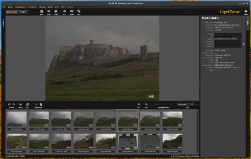 LightZone 4.0 - przeglądanie zdjęć