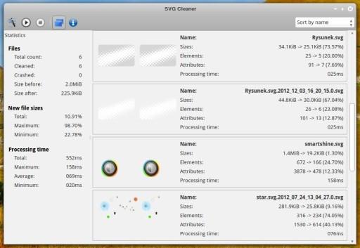 Prace porządkowe pod nadzorem SVG Cleaner 0.5.1