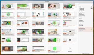 App Grid - obrazki i oceny