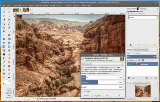 GIMP 2.9.1 - GEGL