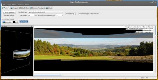 Hugin 2013.0 - po prostu widok na panoramę