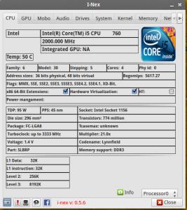 I-Nex - wszystko o twoim procesorze