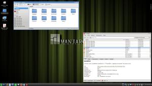Manjaro w KDE, lub KDE w Manjaro