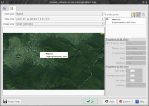 ffDiaporama 2.1 - geolokacja w akcji