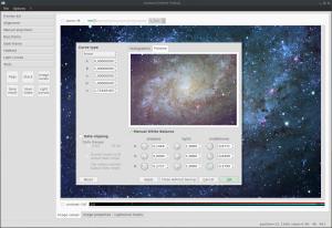 Lxnstack 1.4.4 wewnątrz galaktyki