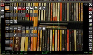 qDslrDashboard i dostępne funkcje przy podglądzie na żywo