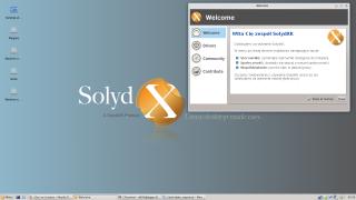 SolydXK 2014.07 - standard po instalacji