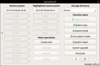 Systemback 1.0.0 - tak, przywracanie systemu może być proste