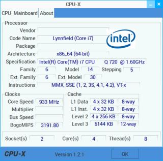 cpu-x 1.2.1