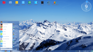 Desperacka próba Linuksa - spójrzcie, jestem Windowsem! (ChaletOS)