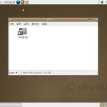 12 świeczek na Ubuntu krążku