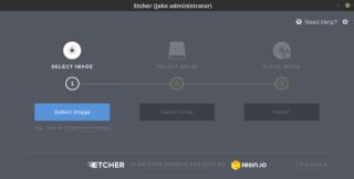 Etcher - armata na obrazy ISO