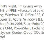 Microsoft rozdaje ebooki