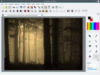PhotoFiltre LX 1.0 w akcji