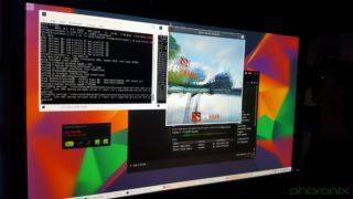 KDE podczas prezentacji