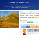 Keegan lubi twoje zdjęcia