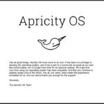 Dystrybucje musząmieć sens – Apricity OS