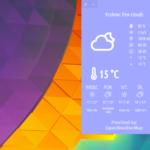 Pogoda dla pulpitu – Cumulus QT 3.0.3