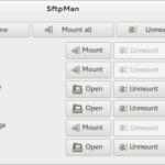 SftpMan-GTK 1.0.2 a uroki SSH