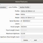 By świat o nich nie zapomniał – NameThatLens 0.3