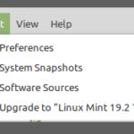 Z Linux Mint 19 do 19.2 dla asekurantów